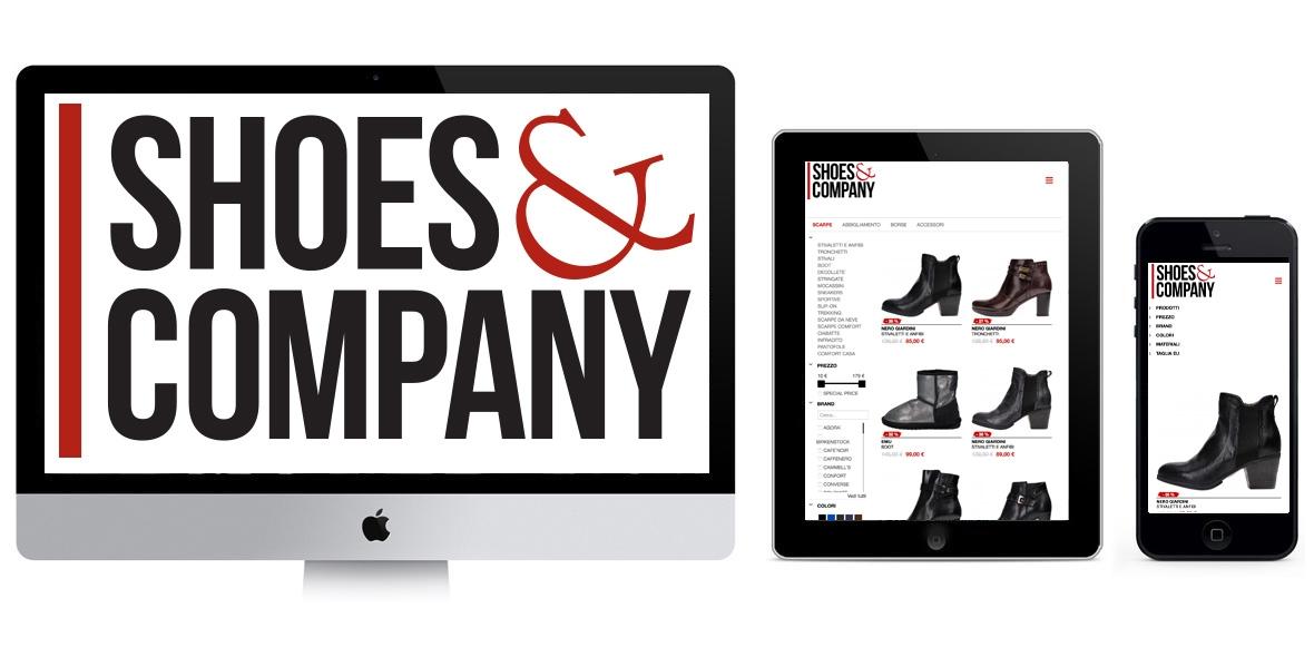 Shoes & Company Ecommerce  Sincronizzato con Gestionale Aziendale